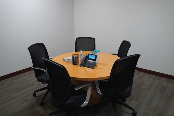 CharterSmallConferenceRoom - Small conference room table and chairs