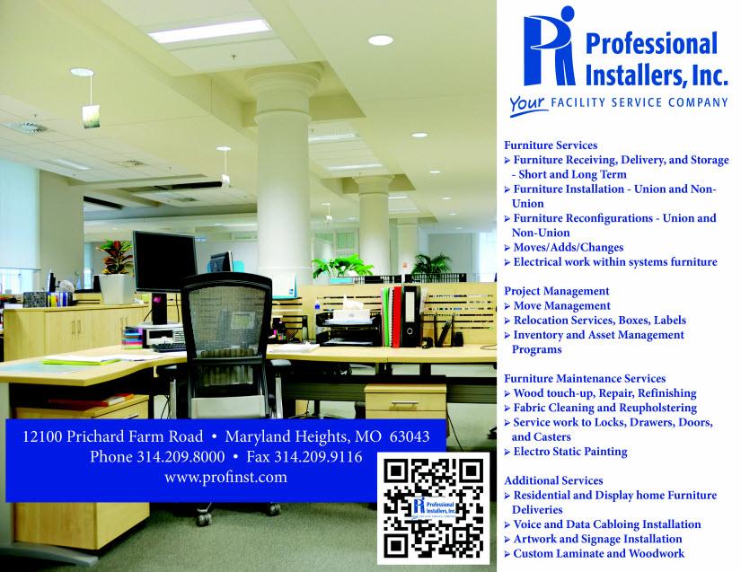 Professional Installers Inc, Union Furniture Mo